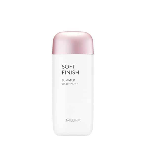 MISSHA All-around Safe Block Soft Finish Sun Milk